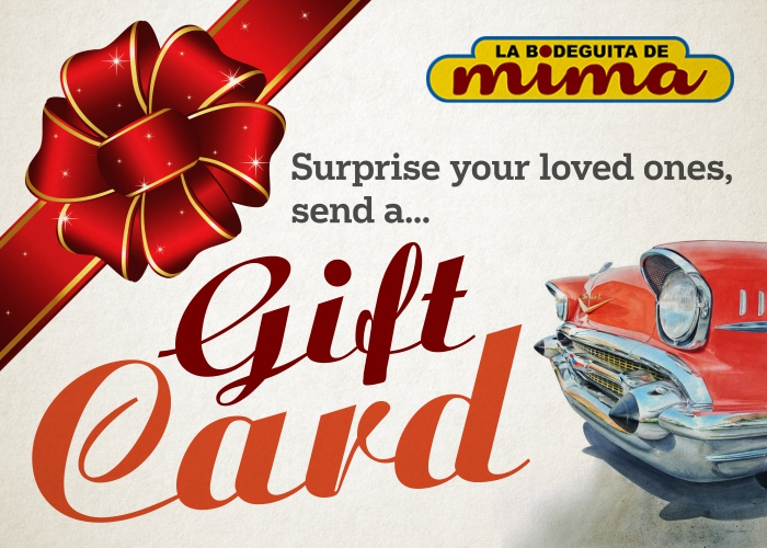 Click to send a Gift Card